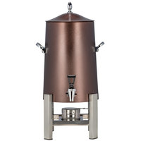 Bon Chef 45103-LEATHER Powerline 3 Gallon Leather Stainless Steel Coffee Chafer Urn