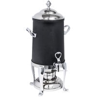 Eastern Tabletop 3205FSMB Freedom 5 Gallon Black Coated Stainless Steel Coffee Urn with Fuel Holder