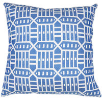Astella TP24-FA53 Pacifica Roland Blue Lounge Throw Pillow