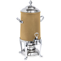 Eastern Tabletop 3205FSRZ Freedom 5 Gallon Bronze Coated Stainless Steel Coffee Urn with Fuel Holder