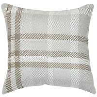 Astella TP18-FA31 Pacifica Tartan Hemp Accent Throw Pillow
