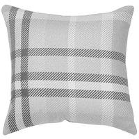 Astella TP18-FA32 Pacifica Tartan Charcoal Accent Throw Pillow