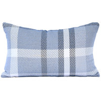 Astella TP12-FA33 Pacifica Tartan Midnight Lumbar Throw Pillow