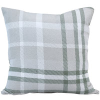 Astella TP24-FA35 Pacifica Tartan Jade Lounge Throw Pillow