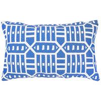 Astella TP12-FA53 Pacifica Roland Blue Lumbar Throw Pillow