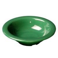 Thunder Group CR5712GR Green 15 oz. Melamine Soup Bowl - 12/Case