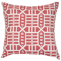 Astella TP18-FA55 Pacifica Roland Red Accent Throw Pillow