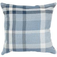 Astella TP18-FA33 Pacifica Tartan Midnight Accent Throw Pillow