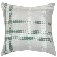 Astella TP18-FA35 Pacifica Tartan Jade Accent Throw Pillow