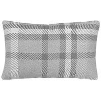 Astella TP12-FA32 Pacifica Tartan Charcoal Lumbar Throw Pillow