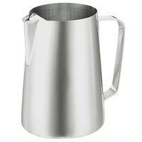 Walco 9-218G Saturn 70 oz. Stainless Steel Pitcher with Ice Guard
