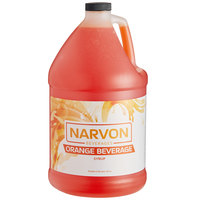 Narvon 1 Gallon Orange Beverage Concentrate   - 4/Case