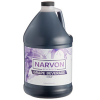 Narvon 1 Gallon Grape Beverage Concentrate   - 4/Case