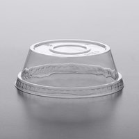 Dome PET Lid without Hole for Parfait Cups - 50/Pack
