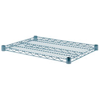 Regency 18 inch x 24 inch NSF Green Epoxy Wire Shelf