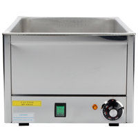 12 inch x 20 inch Electric Food Warmer with Thermostat - 120V, 1200W