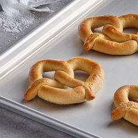 J & J Snack Foods SuperPretzel 2.5 oz. Baked Soft Pretzel - 100/Case