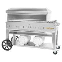 Crown Verity PZ-48-CB Liquid Propane 48 inch x 16 inch Club Series Pizza Oven - 55,000 BTU