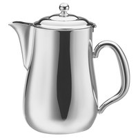 Walco CX528LB Satin Soprano 5 oz. Stainless Steel Creamer with Lid