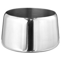 Walco 9-201BX Saturn 8 oz. Stainless Steel Sugar Bowl without Lid