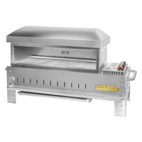 Crown Verity PZ-36-TT-NG Natural Gas 36 inch x 16 inch Table Top Pizza Oven - 42,500 BTU