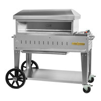 Crown Verity PZ-36-MB-NG Natural Gas 36 inch x 16 inch Mobile Pizza Oven - 42,500 BTU