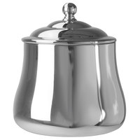 Walco CX529L Soprano 10 oz. Stainless Steel Sugar Bowl with Lid