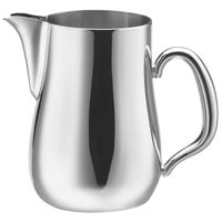 Walco CX528B Satin Soprano 5 oz. Stainless Steel Creamer without Lid