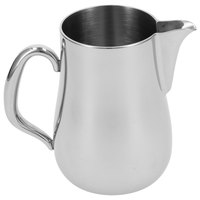 Walco CX526 Soprano 12 oz. Stainless Steel Creamer without Lid