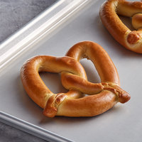 J & J Snack Foods SuperPretzel 5 oz. King Size Baked Soft Pretzel - 50/Case