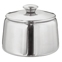 Walco 9-201LBX Saturn 8 oz. Stainless Steel Sugar Bowl with Lid