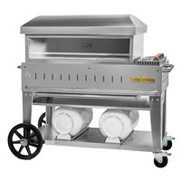 Crown Verity PZ-36-CB Liquid Propane 36 inch x 16 inch Club Series Pizza Oven - 42,500 BTU
