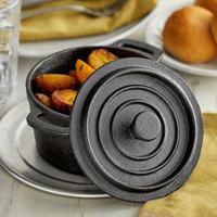 Vollrath 59742-1 5 1/2 inch Pre-Seasoned Cast Iron Cover for 24.6 oz. Pre-Seasoned Mini Cast Iron Pot