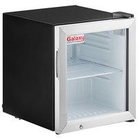 Galaxy CRG-2 Black Countertop Display Refrigerated Merchandiser - 1.8 cu ft.