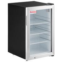 Galaxy CRG-3 Black Countertop Display Refrigerated Merchandiser - 2.5 cu ft.