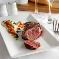Warrington Farm Meats 8 oz. Frozen Sirloin Steak - 20/Case
