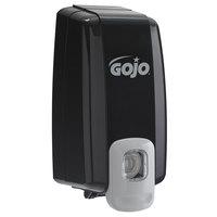 GOJO® 2135-06 NXT 1000 mL Black Space Saver Manual Hand Soap Dispenser