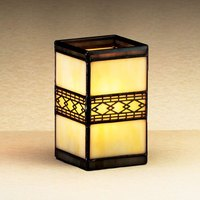 Sterno Products 80244 4 1/4 inch Stained Glass Liquid Candle Holder