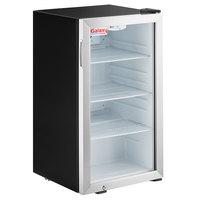 Galaxy CRG-4 Black Countertop Display Refrigerated Merchandiser - 3.5 cu ft.
