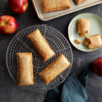 J & J Snack Foods Sweetstuffers 3 oz. Bubbly Crust Fryable Apple Pie - 120/Case