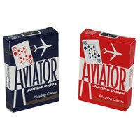 Aviator Jumbo Font Playing Cards