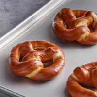 J & J Snack Foods SuperPretzel Bavarian 7 oz. Sourdough Soft Pretzel - 40/Case