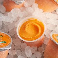 Luigi's 4 oz. Orange Sherbet Ice Cup   - 96/Case