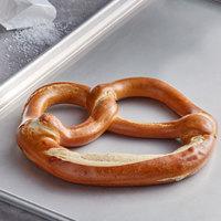J & J Snack Foods Brauhaus Pretzel 10 oz. Individually Wrapped Authentic Bavarian Soft Pretzel   - 12/Case