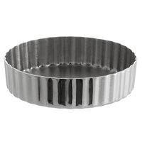 4 1//4 Inches Fat Daddio/'s PFT-425 Fat Daddios Anodized Aluminum Mini Tart Pan