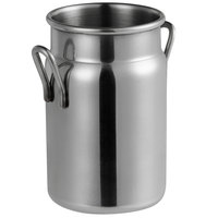 Vollrath 59764 4.9 oz. Mini Milk Can Stainless Steel Creamer