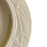 Homer Laughlin 6131000 Lyrica 8.25 oz. Ivory (American White) China Grapefruit Bowl / Dish - 36/Case