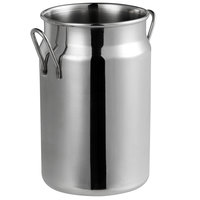 Vollrath 59766 19.6 oz. Mini Milk Can Stainless Steel Creamer