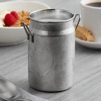 Vollrath 59766 19.6 oz. Mini Milk Can Stainless Steel Creamer