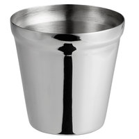 Vollrath 59798 4.7 oz. Satin Finish Stainless Steel Sauce Cup